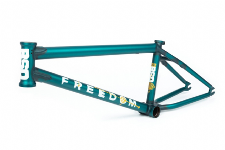 "BSD Freedom Frame 2020 - 20.2"" - Flat Trans Turquoise"